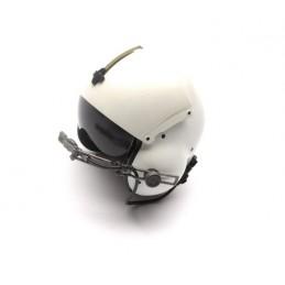 Pilot helmet with visor 1:6
