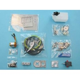 Hydraulics kit without servos