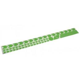 Markierungsdecor grün