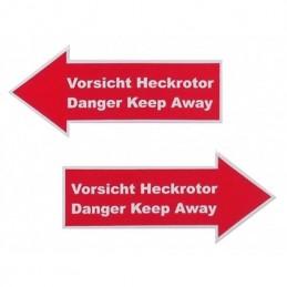 Flecha de advertencia de...