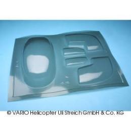 Lockheed Verglasung rauchglas