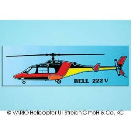 Autoaufkleber Bell 222...