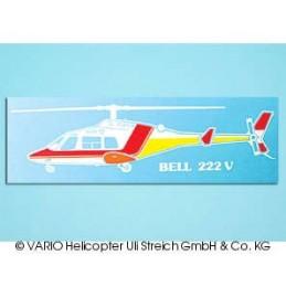 Adhesivo coche Bell 222 blanco