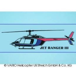 Autoaufkleber Jet Ranger...