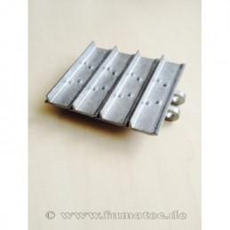 1-Steg Metallkettenglied...