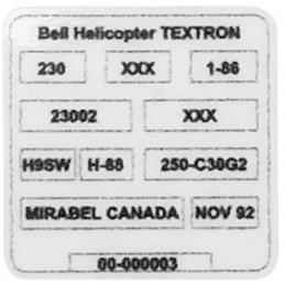 Etiqueta autoadhesiva Bell...
