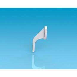 Antena curvada 1: 4