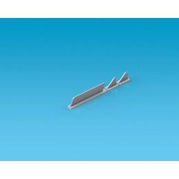 Antenas planas x3 1: 4