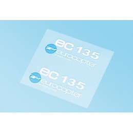Logo EC 135 blanco