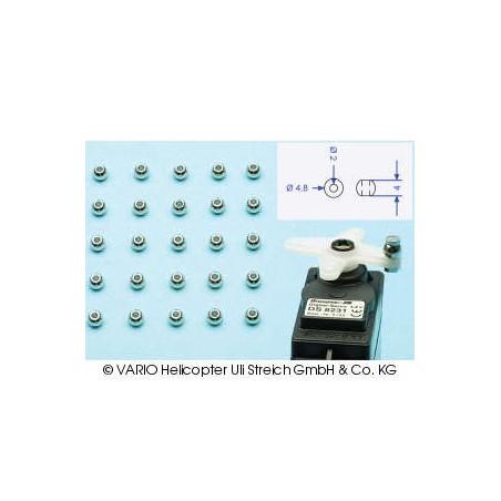 Bolas cromadas 2.0 x 4.8 mm