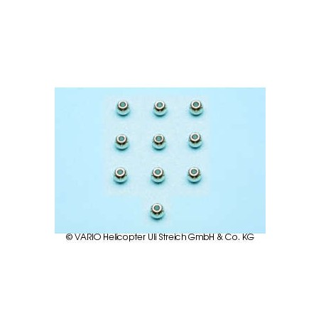 Balls chrome-plated 2.0 x 4.8 mm