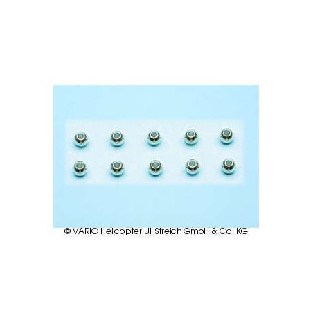 Bolas cromadas 2.5 x 5.5 mm