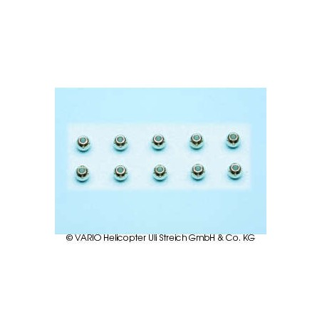 Balls chrome-plated 2.5 x 5.5 mm