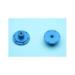 Blue anodized hub gear