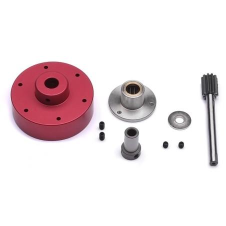 Freewheel / driven tail rotor