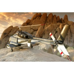 AIRWOLF big 1:7 - Rumpfbausatz