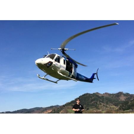 Kit de Fuselaje Bell 212 para mecanica electrica y gasolina
