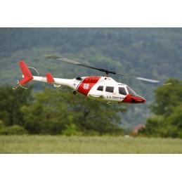 Bell 222 1:8 - Rumpfbausatz