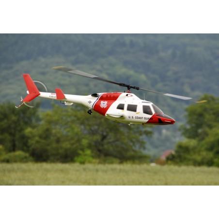 Kit de Fuselaje Bell 222 para mecanica electrica