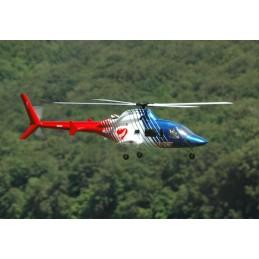 Fuselaje kit de Bell 430...