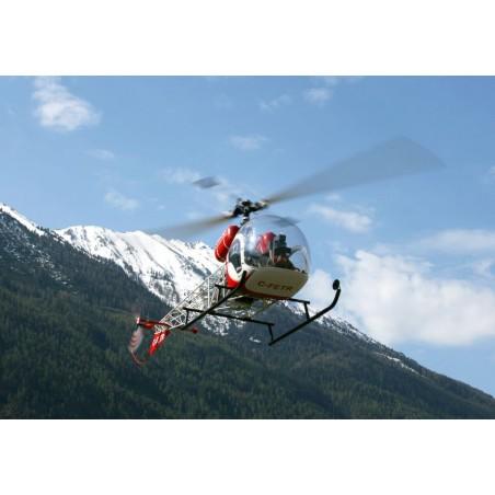 Kit de Fuselaje Bell 47 G para mecanica electrica y gasolina