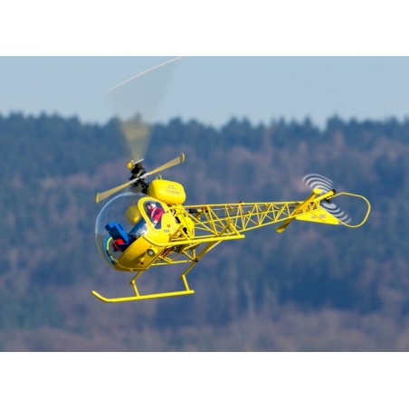 Kit de Fuselaje Bell 47 G IIIpara mecanica electrica y gasolina