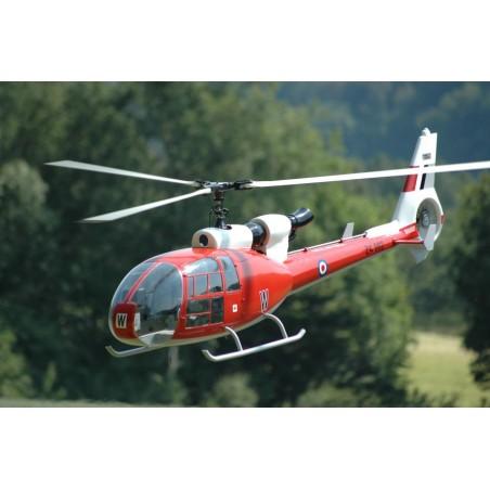 Kit de Fuselaje Gazelle para Electric / PHT3-L / Jakadorfsky