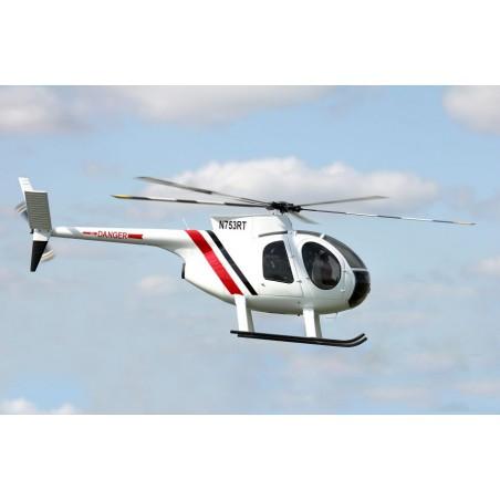 Kit de Fuselaje Hughes 500 D para Benzin