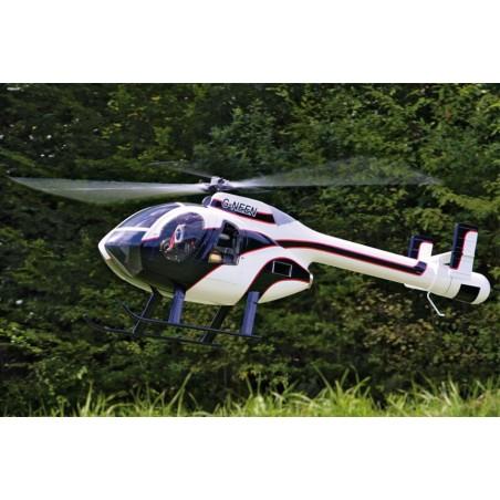Hughes MD 520 N 1:5 for Pahl-turbine - Fuselage kit