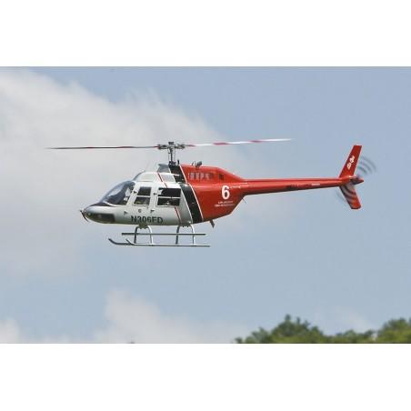Kit de Fuselaje big Jet Ranger para mecanica electrica y gasolina