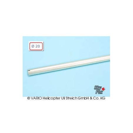Tubo de cola de  20 x 0.8 x 780 mm, sil