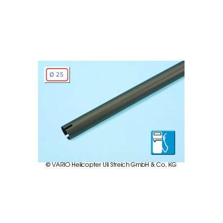 Tubo de cola de  25 x 0.8 x 820 mm, negro