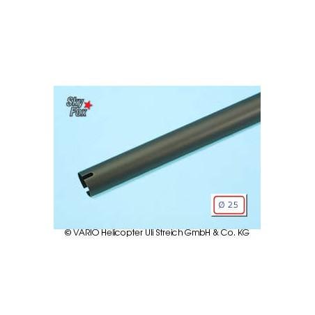 Tubo de cola de  25 x 0.8 x 720 mm, negro