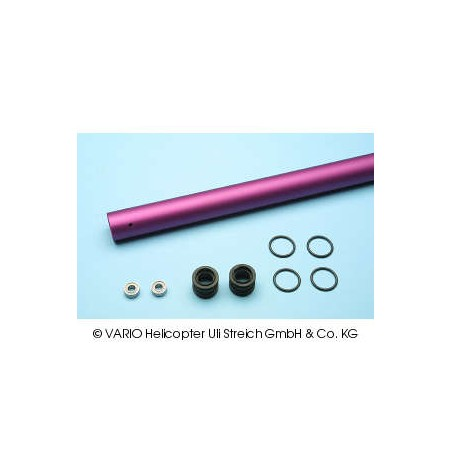 Tail boom ballraced 25 x 0.8 x 840 mm, violet