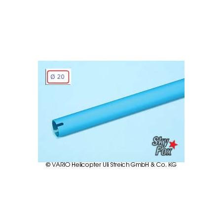 Tubo de cola de  20 x 0.8 x 780 mm, azul