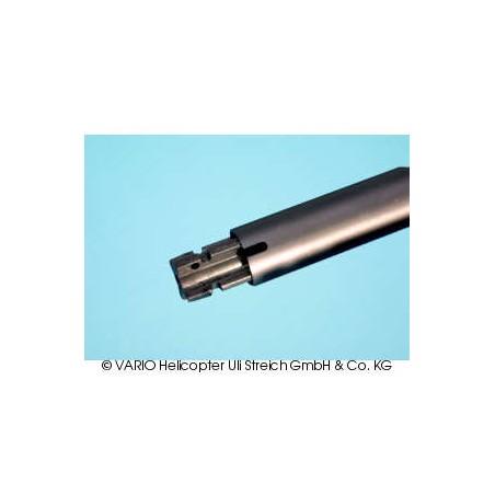 Tubo de cola (alu) 20 x 0.8 x 780, negro