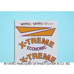 Decal sheet X-Treme economic