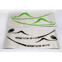 Set de pegatinas Silence