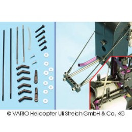Chassis brace set for X-Treme