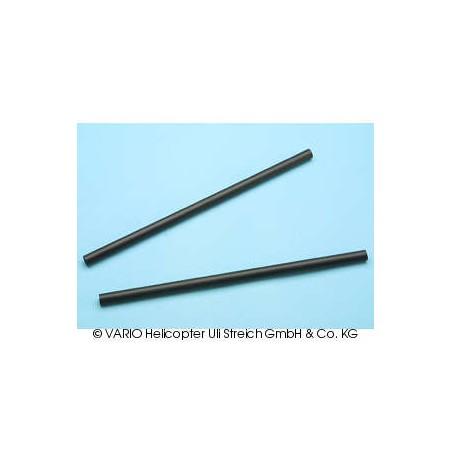 Strut set carbon fibre 8 x 200 mm