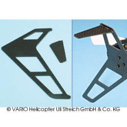 3-D stabiliser, carbon fibre