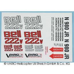Aufkleber Bell 222 V