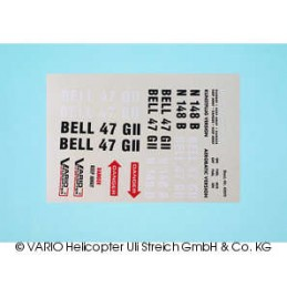 Decal sheet Bell 47 G II