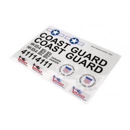 Aufkleber Coast Guard