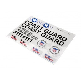 Decal sheet Coast Guard
