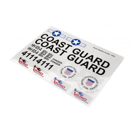 Decal sheet Coast Guard