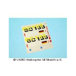 Decal sheet EC 135...