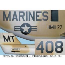 Aufkleber für CH-53