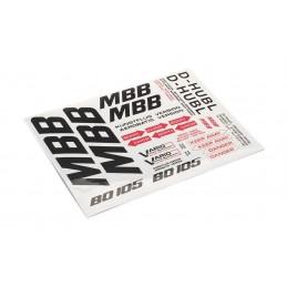 Decal sheet Bo 105 MBB