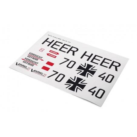 Set de pegatinas UH-1D HEER